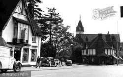 Loughton, Lopping Hall c.1955