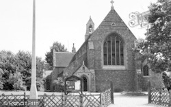 Loughton, Parish Church c.1955