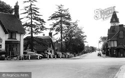 Loughton, Station Road c.1955