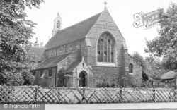 Loughton, The Church c.1955