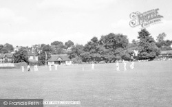 Loughton, The Cricket Field c.1950