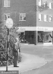 Loughton, Waiting To Cross High Road c.1960