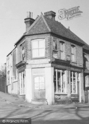 Loughton, York Hill Stores c.1955