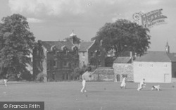 Louth, Cricket, Grammar School Playing Fields c.1955