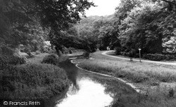 Louth, Hubbards Hills, The Stream c.1960