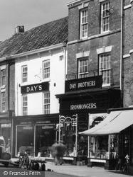 Ironmongers, Mercer Row c.1950, Louth