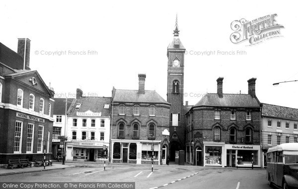 Photo of Louth, Market Place And Market Hall c.1960