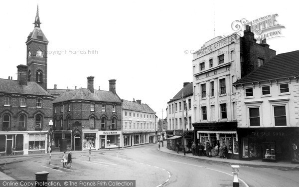 Photo of Louth, Market Place c.1960