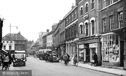 Louth, Mercer Row c.1955