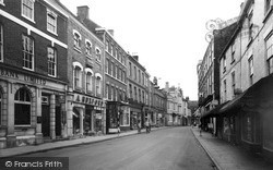 Louth, Mercer Row c.1960