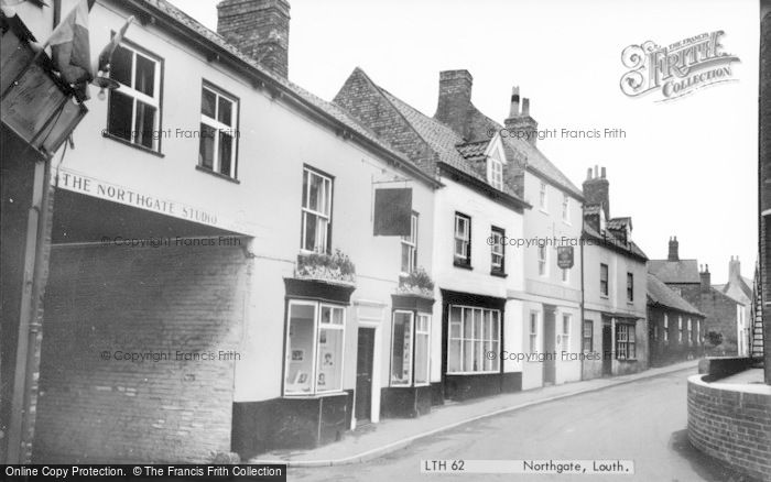 Photo of Louth, Northgate c.1960