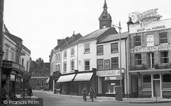 Louth, Off Market Square c.1955
