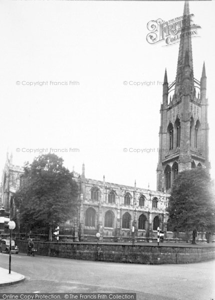 Photo of Louth, St James Church c.1955