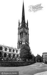 St James Church c.1955, Louth