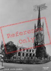 Louth, St James Church c.1955