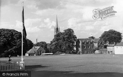 Louth, The Grammar School Playing Fields c.1955