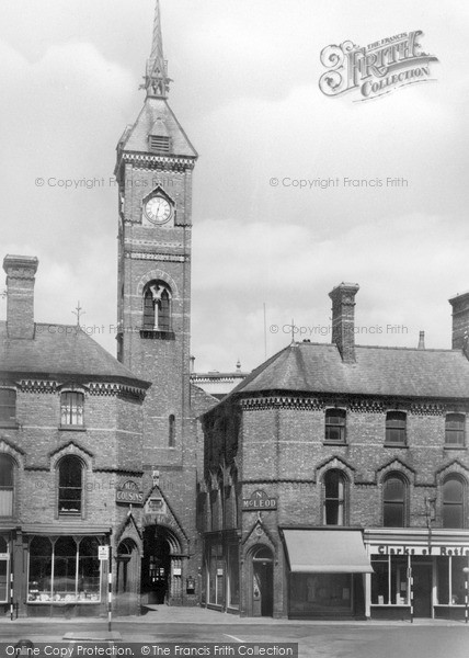 Photo of Louth, The Market Clock c.1950