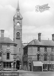 The Market Clock c.1950, Louth