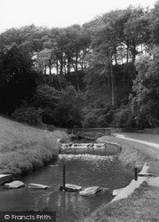 Louth, The Stepping Stones, Hubbards Hills c.1960