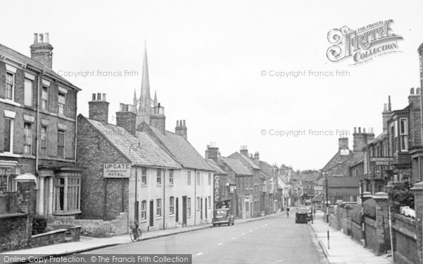 Photo of Louth, Upgate c.1955