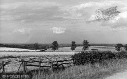 Louth, View From The Wolds c.1955