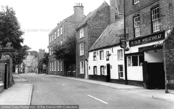 Photo of Louth, Westgate c.1955