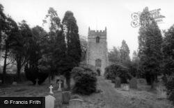 Parish Church c.1960, Low Bentham