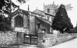 St John The Baptist Church c.1955, Low Bentham
