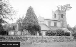 St John The Baptist Church c.1960, Low Bentham