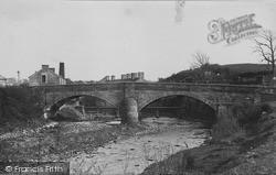 The Bridge And River Wenning c.1955, Low Bentham