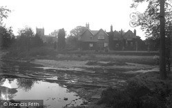 The Parish Church And Rectory c.1910, Low Bentham