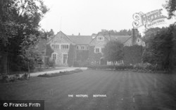 The Rectory c.1910, Low Bentham