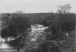 The Weir c.1955, Low Bentham