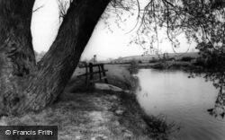 Low Hutton, Swing Bridge c.1960