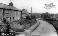 Village Store And Village c.1965, Low Hutton