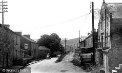 Low Row, Post Office And Methodist Church c.1955