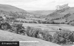 Low Row, Swaledale From Whitaside c.1960