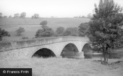 Low Row, The Bridge c.1955