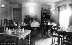 The Dining Room, The Punch Bowl Inn c.1960, Low Row