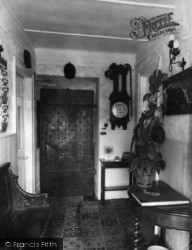 Low Row, The Entrance Hall, The Punch Bowl Inn c.1960