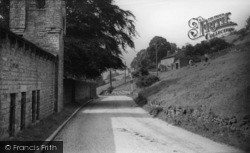 Low Row, The Village c.1955