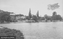 Lower Halliford, The River Thames 1899