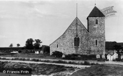 Lower Halstow, St Margaret's Of Antioch Church c.1960