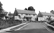 Lower Heyford, Cherwell Bank c1955