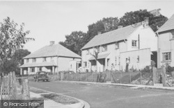Cherwell Bank c.1955, Lower Heyford