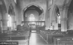 Church Interior c.1955, Lower Heyford