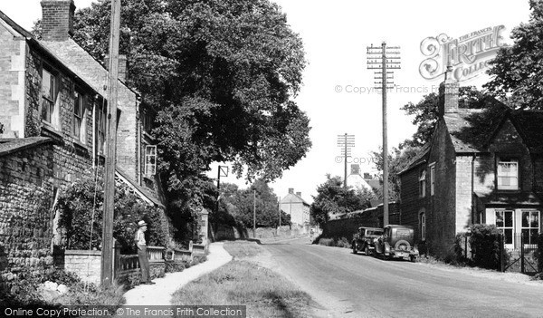 Lower Heyford, Station Road c1955