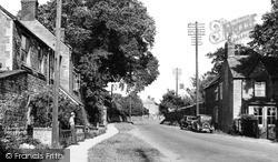 Station Road c.1955, Lower Heyford