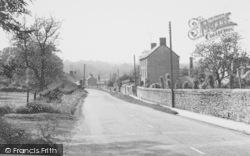 Station Road c.1960, Lower Heyford