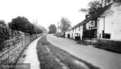 Station Road c.1965, Lower Heyford
